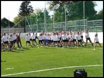 Műfüves focipálya átadása 2019.09.27. hír borítója